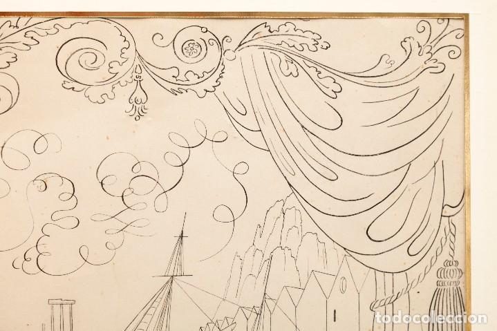 Arte: Urbano LUGRIS GONZALEZ (1908-1973) - TINTA SOBRE PAPEL - 1961 - Foto 8 - 121331419