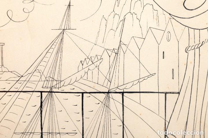 Arte: Urbano LUGRIS GONZALEZ (1908-1973) - TINTA SOBRE PAPEL - 1961 - Foto 9 - 121331419