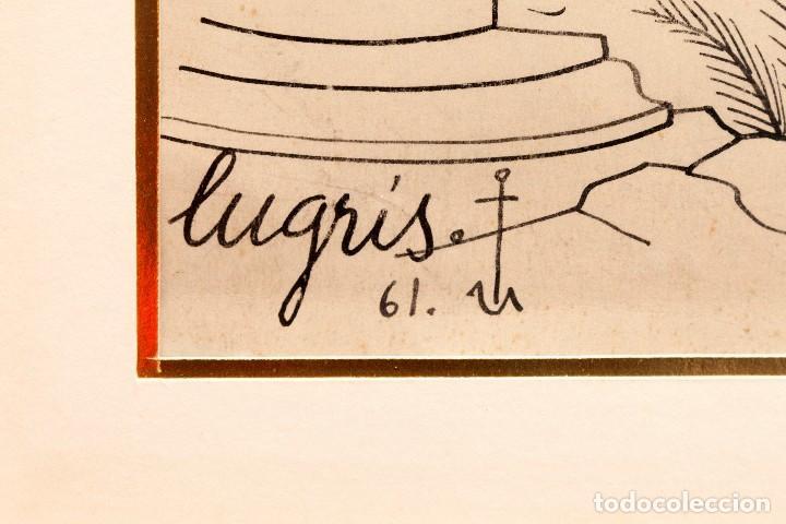 Arte: Urbano LUGRIS GONZALEZ (1908-1973) - TINTA SOBRE PAPEL - 1961 - Foto 10 - 121331419
