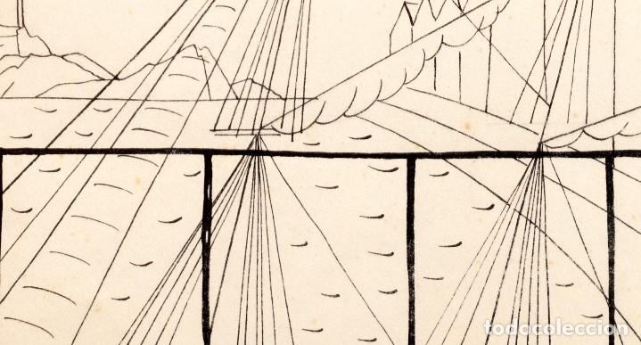 Arte: Urbano LUGRIS GONZALEZ (1908-1973) - TINTA SOBRE PAPEL - 1961 - Foto 11 - 121331419