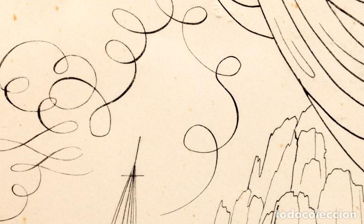 Arte: Urbano LUGRIS GONZALEZ (1908-1973) - TINTA SOBRE PAPEL - 1961 - Foto 12 - 121331419