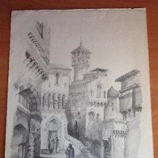 Arte: ANÓNIMO. UNA CALLE ARABE.. Lote 121493963