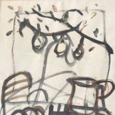Arte: TÉCNICA MIXTA SOBRE PAPEL - MONTESOL - FIRMADA. Lote 121519943