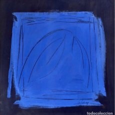 Arte: TÉCNICA MIXTA SOBRE PAPEL - ISABEL SALUDES - FIRMADA. Lote 121520063