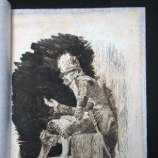 Arte: DIBUJO ORIGINAL DE ANTONI FABRÉS I COSTA (1854-1936). Lote 122011091