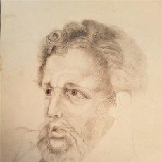 Arte: LOTE DE 4 DIBUJOS ESPAÑOLES PRINCIOS DEL XIX Y DOS LÁMINAS FRANCESAS DEL S.XIX. Lote 122786383