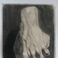 Arte: DIBUJO DE MANO DE ESCULTURA CLÁSICA .PINTADO AL CARBONCILLO. DIBUJO S. Lote 122966527