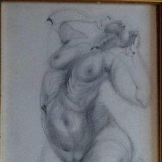Arte: MUJER ( DESESPEREZANDOSE) ENVIO CERTIFICADO INCLUIDO.. Lote 123040447