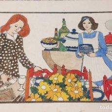 Arte: BOADA, PEDRO, ILUSTRACIÓN ORIGINAL 1972. Lote 123361135