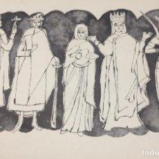 Arte: BOADA, PEDRO, ILUSTRACIÓN ORIGINAL 1972. Lote 123363995