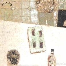 Arte: TÉCNICA MIXTA SOBRE TELA - MAGÍ PUIG - FIRMADA. Lote 123364747