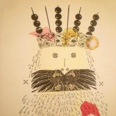 Arte: COLLAGE. JOAN-JOSEP THARRATS. FELICITACIÓN DE NAVIDAD. Lote 123533707