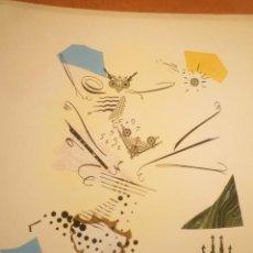 Arte: COLLAGE. JOAN-JOSEP THARRATS. FELICITACIÓN DE NAVIDAD. Lote 123534319
