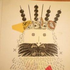 Arte: COLLAGE. JOAN-JOSEP THARRATS. FELICITACIÓN DE NAVIDAD. Lote 123534691