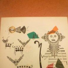 Arte: COLLAGE. JOAN-JOSEP THARRATS. FELICITACIÓN DE NAVIDAD. Lote 123536127