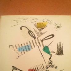Arte: COLLAGE. JOAN-JOSEP THARRATS. FELICITACIÓN DE NAVIDAD. Lote 123536567