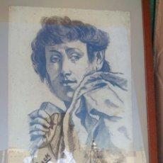 Arte: CARBONCILLO ACADEMIA DE DIBUJO ÁGUILAS. Lote 124472663