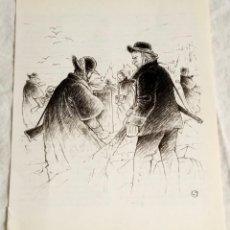 Arte: ILUSTRACIÓN - DIBUJO DE LUIS JOVER, 1989 - 20X16CM / EXTRAÍDA DE LIBRO.. Lote 124634843