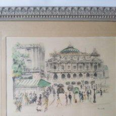 Arte: DIBUJO A LÁPIZ, PARIS, S. XIX. FIRMADO JANICOTTE. Lote 124712855