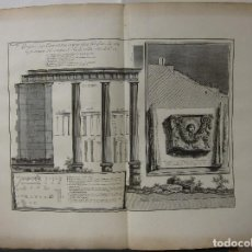 Arte: G.B. PIRANESI - ESTUDIO ARQUITECTÓNICO . Lote 125040835