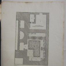 Arte: G.B. PIRANESI - ESTUDIO ARQUITECTÓNICO . Lote 125045911