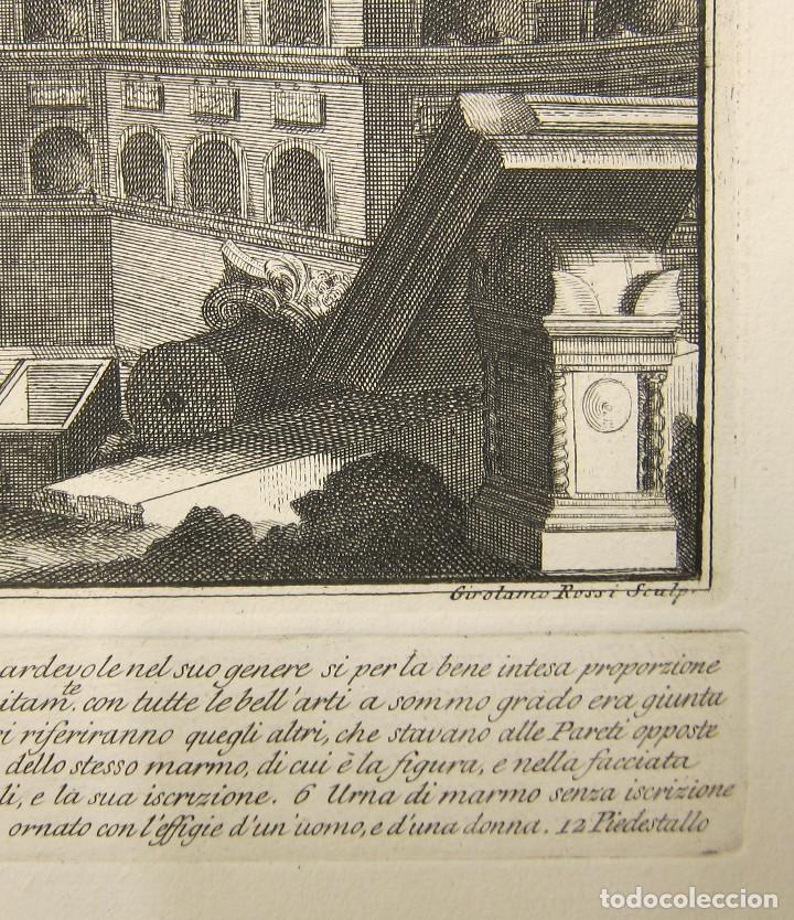 Arte: Girolamo Rossi - Estudio arquitectónico - Foto 4 - 125047731