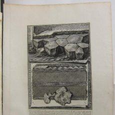 Arte: G.B. PIRANESI - ESTUDIO ARQUITECTÓNICO . Lote 125056275