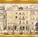 Arte: DIBUJO ORIGINAL AÑO 1968,DEL ARQUITECTO IGNASI SERRA GODAY,CANALES DE VENECIA,ITALIA,ARQUITECTURA. Lote 125057055