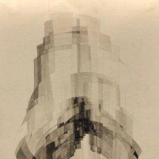 Arte: TÉCNICA MIXTA SOBRE PAPEL - 1969 - JOAN CLARET - FIRMADA. Lote 125297991