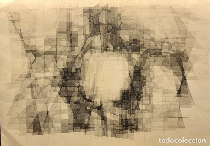TÉCNICA MIXTA SOBRE PAPEL - 1967 - JOAN CLARET - FIRMADA (Arte - Dibujos - Contemporáneos siglo XX)