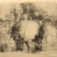 Arte: TÉCNICA MIXTA SOBRE PAPEL - 1967 - JOAN CLARET - FIRMADA. Lote 125300007