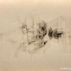 Arte: TÉCNICA MIXTA SOBRE PAPEL - 1968 - JOAN CLARET - FIRMADA. Lote 125300091