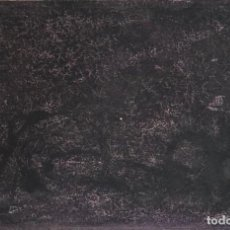 Arte: FRANCISCO VALBUENA - TÉCNICA MIXTA SOBRE PAPEL - 1974 - FIRMADA. Lote 125333971