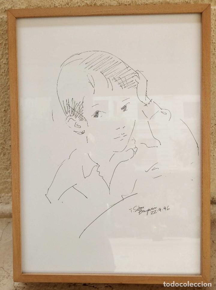 Arte: Trinidad Sotos Bayarri. Nació en 1927 en Sabadell, Barcelona, Reside en Santander, Cantabria - Foto 2 - 125444899