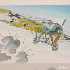 Arte: MONNERAT PIERRE [1917-2005], ORIGINAL. FOKKER II. Lote 125846215