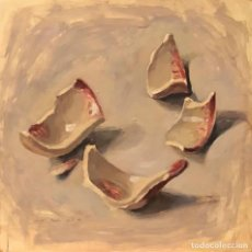 Arte: JULIET POMÉS LEIZ - TÉCNICA MIXTA SOBRE MADERA - 1999 - FIRMADA. Lote 125916535