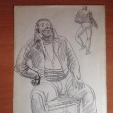 Arte: ALBERT DECARIS. PERSONAJE ESPAÑOL.. Lote 126523211