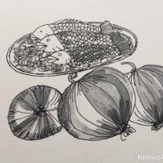 Arte: ILUSTRACIÓN DE BOADA, REPRODUCIDA. Lote 126581103