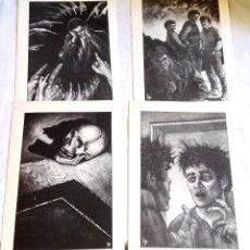 Arte: GERRY GRACE 1991 - ILUSTRACIONES-DIBUJOS - EXTRAÍDOS DE LIBRO - 23,5X14,5CM APROX.. Lote 126592491