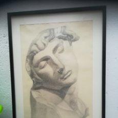 Arte: HERMOSA OBRA EN CARBONCILLO. Lote 126821111
