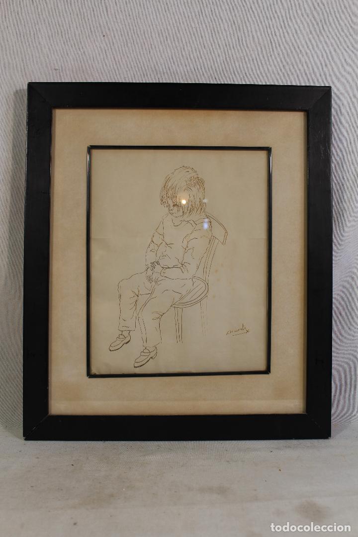 CLEMENTE - DIBUJO ORIGINAL FIRMADO (Arte - Dibujos - Contemporáneos siglo XX)