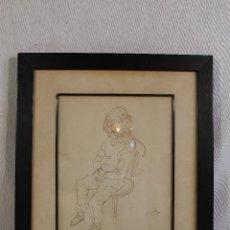 Arte: CLEMENTE - DIBUJO ORIGINAL FIRMADO . Lote 127023735