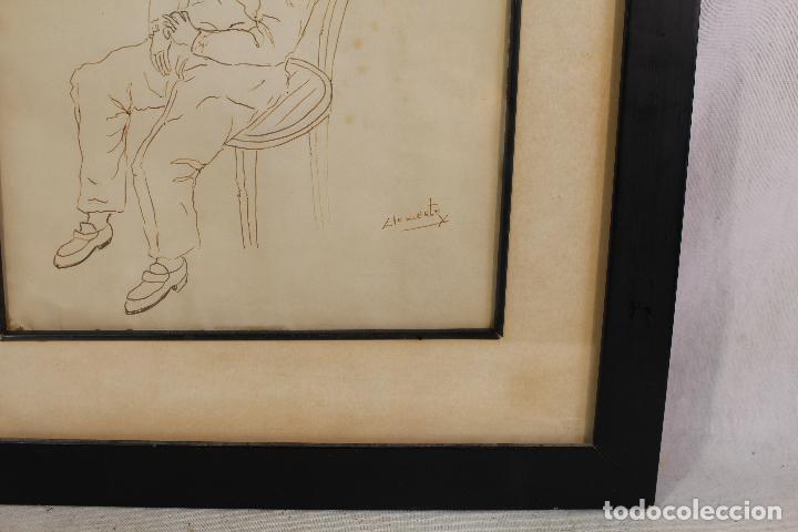 Arte: clemente - dibujo original firmado - Foto 4 - 127023735