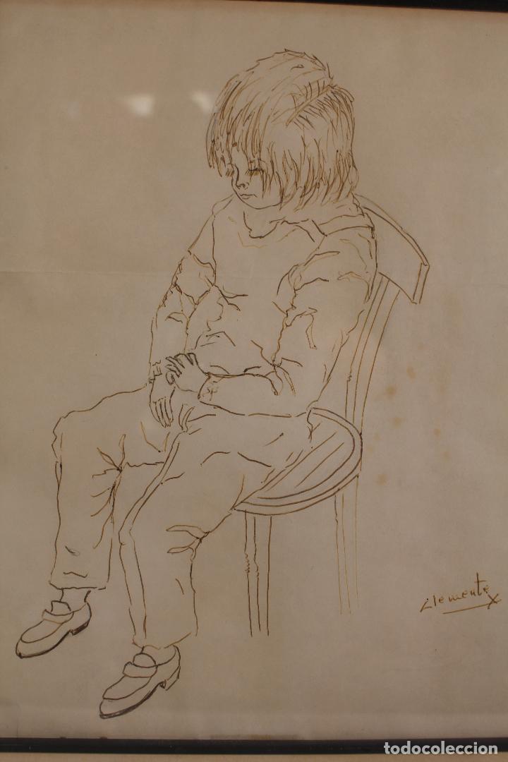 Arte: clemente - dibujo original firmado - Foto 5 - 127023735