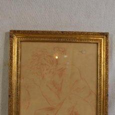 Arte: A.HERNANSAEZ - DIBUJO ORIGINAL FIRMADO. Lote 127024163