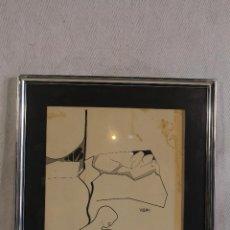 Arte: TOLEDO PUCHE - DIBUJO ORIGINAL FIRMADO Y FECHADO. Lote 127024267