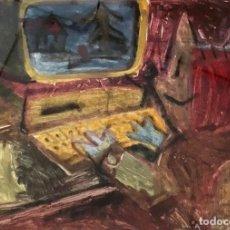 Arte: MARISCAL - TÉCNICA MIXTA SOBRE PAPEL - FIRMADA. Lote 127657455