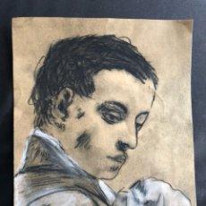 Arte: F.GIMENO , DIBUJO A CARBÓN. Lote 127748755