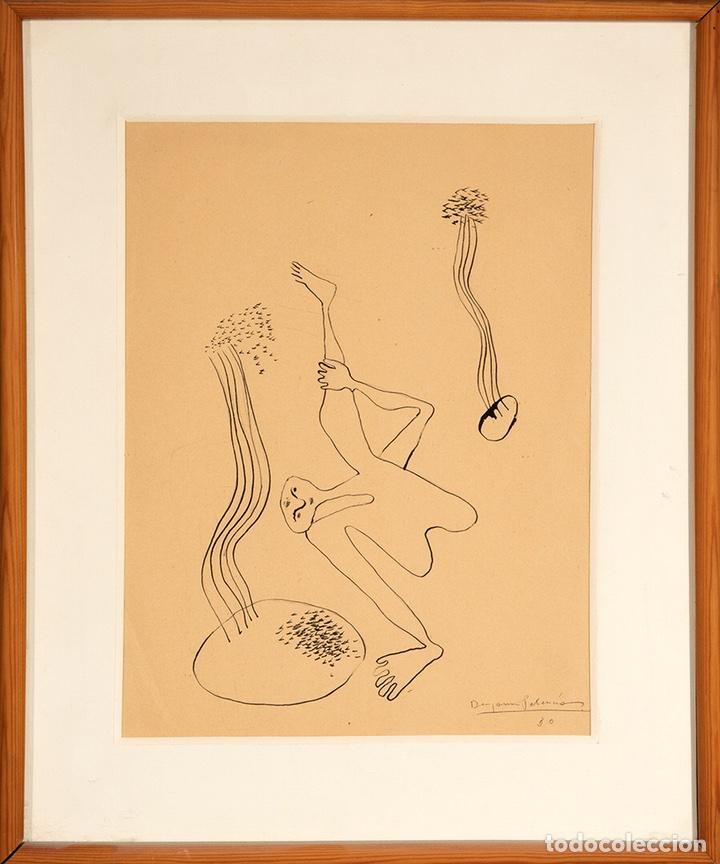 BENJAMÍN PALENCIA. SURREALISMO. ESCUELA DE VALLECAS. 1930. 35X25 CM. MIRO. (Arte - Dibujos - Contemporáneos siglo XX)
