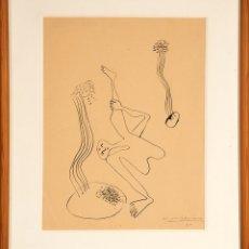 Arte: BENJAMÍN PALENCIA. SURREALISMO. ESCUELA DE VALLECAS. 1930. 35X25 CM. MIRO.. Lote 127977912